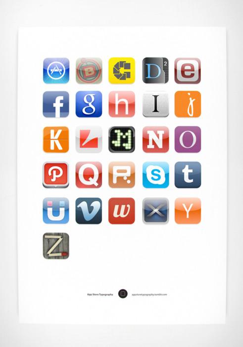 New Alphabet - an Environmental Print?!